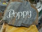 Poppy natural rock
