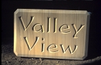 Valley View   carved in SANDSTONE