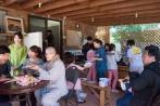 한글학교 지도법사 현송스님과 선생님들 그리고 정법사의 새싹들