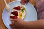 어린이학교 요리실습 11-08-2013 얌 팬케이크 완성!!
