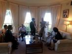 호주 시드니 총영사관저 만찬초대 방문